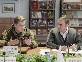 Тульские поисковики обсудили итоги полевого сезона с главой региона Алексеем Дюминым
