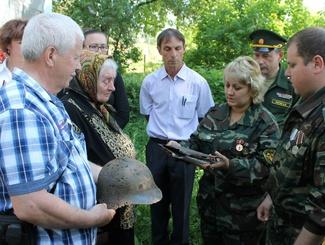 Татарстанские поисковики вернули солдата Великой Отечественной войны на малую родину