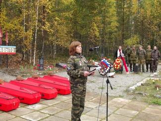 В Карелии похоронили 107 защитников Отечества, найденных поисковиками в Медвежьегорском районе Республики
