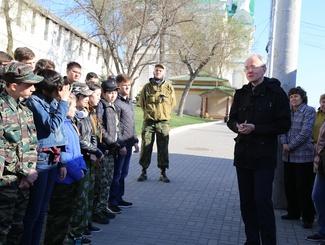 Астраханские поисковики отправились в экспедицию на территории Калмыкии