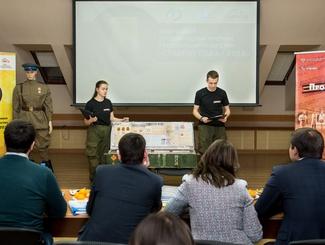 Поисковики республики Татарстан представили проект «ПроПоиск» на конкурсе «Студент года»