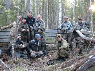 Карельские поисковики завершили экспедицию в Лоухском районе Республики