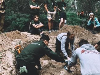 Школа «Поисковый Фронт» стартовала на острове «Вертолетный» в Татарстане