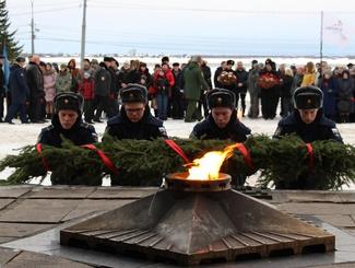 Митинг, посвященный Дню Неизвестного солдата, прошел в Архангельске