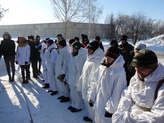 Поисковики приняли участие в межрегиональном лыжном походе «Ледовый марафон-2018»