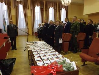 Ивановских поисковиков отметили благодарностями и наградами за работу по увековечению памяти защитников Отечества