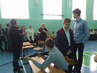 Оренбургские поисковики провели открытое первенство по пулевой стрельбе, посвященное Дню защитника Отечества