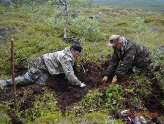 Поисковики нашли родственников погибшего при штурме высоты 258 красноармейца