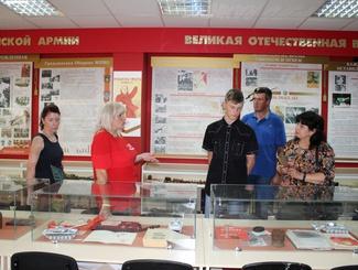 Поисковики Татарстана встретились с родственниками красноармейца Андрея Тянникова
