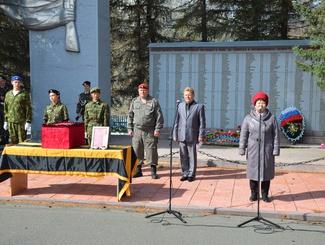 Сержант РККА Василий Чендеков похоронен на малой родине в Республике Алтай