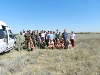 Поисковая экспедиция «Вертячинский плацдарм – 2016» стартовала в Волгоградской области