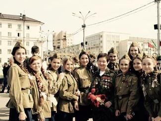 Поздравляем с юбилеем ветерана поискового движения Белоруссии Ларису Наумовну Бруеву