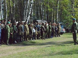 Поисковые отряды из пяти регионов приняли участие в открытии «Вахты Памяти» в Калужской области