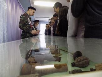 Блиндаж времен Великой Отечественной войны воссоздали поисковики Оренбуржья