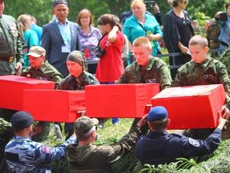 Участники экспедиции «Западный фронт-4» обнаружили останки 195 воинов РККА в Калужской области