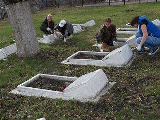 Пензенские поисковики благоустроили 105 воинских захоронений в рамках акции «Дорога к обелиску»