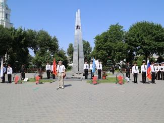 Астраханские поисковики провели мероприятие к 22 июня в музее Боевой Славы