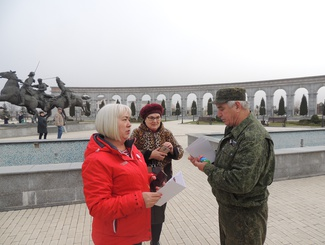 Прием заявлений на поиск родственников, пропавших в годы Великой Отечественной войны, организовали поисковики Ингушетии