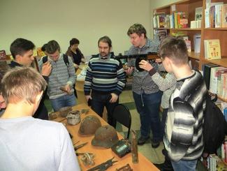 Нижегородские поисковики презентовали молодёжи фильм о поиске