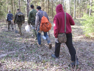 Поисковики ищут родственников бойцов, найденных в Ржевском районе Тверской области