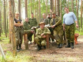 Владимирские поисковики провели «Вахту Памяти» в Ленинградской области
