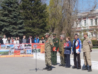 Астраханские поисковики приняли участие  в межрегиональной поисковой экспедиции в Ростовской области