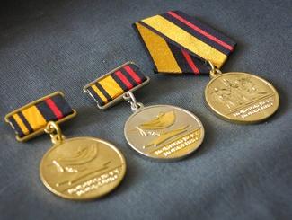 Министр обороны Российской Федерации наградил российских поисковиков