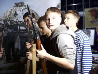 Интерактивная площадка «Поискового движения России» в День Героев Отечества
