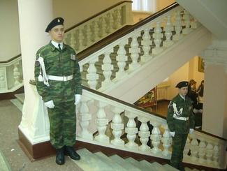 Слет юнармейских отрядов прошел в Екатеринбурге