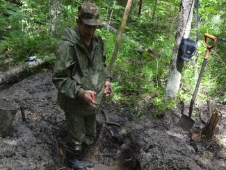 14 погибших красноармейцев нашли поисковики в ходе акции «Марш Памяти» в Новгородской области