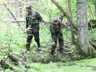 Сводный поисковый отряд Тверской области установил место падения советского самолета