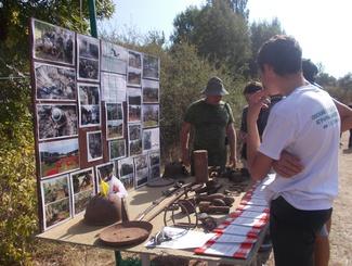 Поисковики рассказали о своей работе на ежегодном туристическом слете школьников в Белогорском районе Республики Крым
