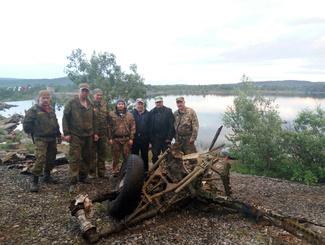 Участники проекта «Небо Родины» завершают экспедицию по подъему самолета Пе-2 в Мурманской области