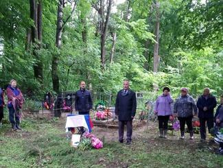 Танкист Красной Армии Леонид Клюшкин похоронен на родине в Тверской области