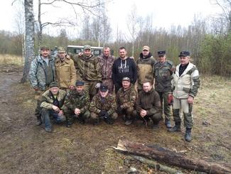 В Парфинском районе обнаружены останки 87 советских бойцов и командиров