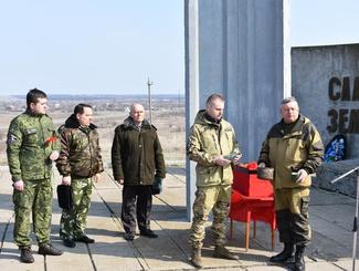 Церемония передачи останков красноармейца Ивана Пехтерева на малую родину прошла в Волгоградской области
