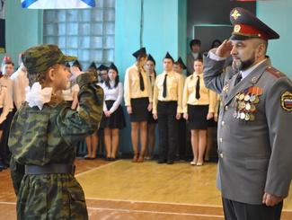 Посвящение в поисковики прошло в Приморском районе Архангельской области