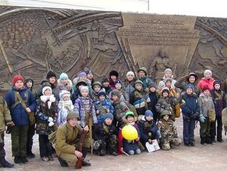 Бойцы тюменского поискового отряда «Кречет» провели «Поход памяти»