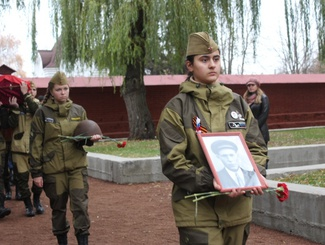 Церемония захоронения красноармейца Василия Ильина прошла в Тамбове
