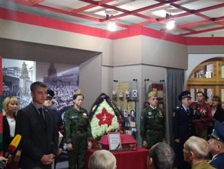 Торжественная церемония передачи останков Василия Серебрякова прошла в Чебоксарах