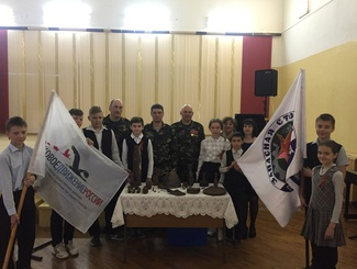 Активисты самарского поискового отряда «Запасная столица» рассказали о своей работе учащимся школы №178