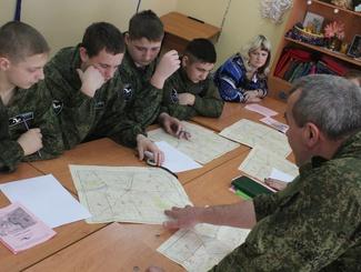 Зимняя сессия школы поисковика в Тамбовской области