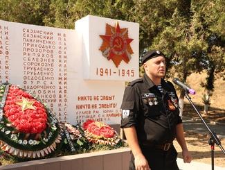 Церемония прощания с двумя неизвестными защитниками Отечества состоялась на Кубани