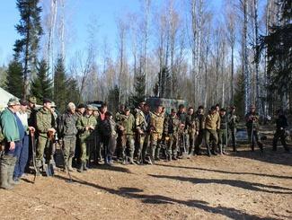 В период  весенней Вахты Памяти 2014 года на территории Новгородской области будут работать 105 поисковых отрядов
