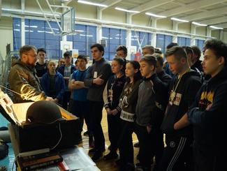 Марийские поисковики выступили на межрегиональном фестивале «Наследники Победы»