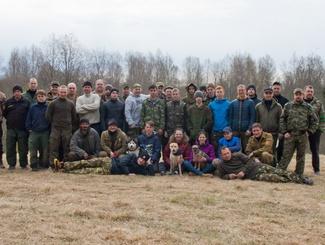 Поисковики  электростальского поискового отряда «Поколение» приняли участие в «Вахте Памяти» на территории Новгородской области