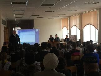 Поисковики Башкирии провели Урок Мужества для участников проекта «Память и гордость в сердцах поколений»