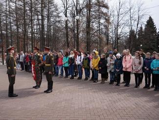 Открытие республиканского этапа Всероссийской акции «Вахта Памяти – 2017» состоялось в Удмуртии