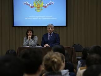 Собрание координаторов сводного поискового отряда «Звезда» состоялось в Приволжском районе Астраханской области