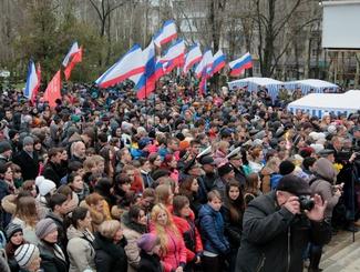 Поисковики приняли участие в торжествах, посвященных освобождению Армянска от фашистов